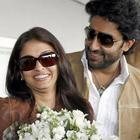 Beautiful,Charming Couple Abhishek and Aishwarya Stills