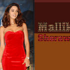 Mallika Sherawat Red Dress Sexy Wallpaper