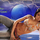 Mallika Sherawat Sleeping Pose Hot Wallpaper