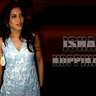 Beautiful and Talented Girl Isha Koppikar Wall[papers
