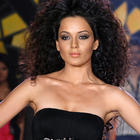Curly Hair Beauty Kangana Latest Stills