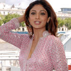 Shilpa Shetty Cute Pic In Pink Gorgeous Dress
