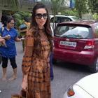 Karishma Kapoor Promoting Dangerous Ishhq in Delhi