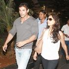 John Abraham and Priya Runchal Spotted at the Airport