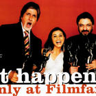 Rani Mukherjee With Amitabh Bachchan And Sanjay Leela Bhansali Nice Smiling Photo