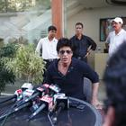 Shahrukh Khan Holds A Press Conference at His Residence