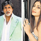 Amitabh Bachchan and Tabu Photo