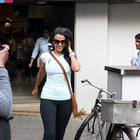 Neha Dhupia Snapped Outside Nature's Basket Store