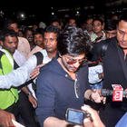 Shahrukh Khan Snapped At Airport To Leaves For London