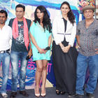 Cast And Crew Of Gangs Of  Wasseypur At The Music Launch