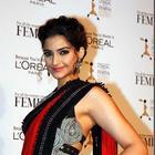 Sonam Kapoor Looks Amazing in Gown or In Saree