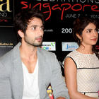 Shahid,Priyanka and Kunal Promote Teri Meri Kahaani at IIFA 2012
