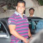 Salman Khan Watches a Film With His Family at a Suburban Theatre