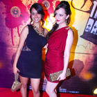 Pooja and Hazel Sexy Pose at The First Look Launch Of Jeena Hai Toh Thok Daal