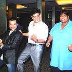 Ravi Kishan Dancing Pic at The First Look Launch Of Jeena Hai Toh Thok Daal