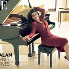 Vidya Balan Photo Shoot For Vogue India January 2013