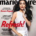 Sonam Kapoor Photo Shoot For Marie Claire India Jan 2013