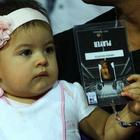 Lara Dutta Daughter Saira At Aircel Chennai Open 2013 Tennis Tournament