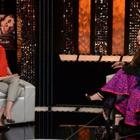 Aishwarya Rai Bachchan At The Front Row With Anupama Chopra