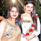 Neetu Singh And Prachi Desai Posed For Camera At R N Singh Birthday Party