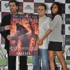 Karan Johar Launches Amish Tripathi Book At Olive In Bandra
