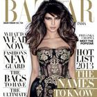 Priyanka Photo Shoot For Harper's Bazaar India Jan-Feb 2013 Issue