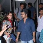 Ram Charan Teja And Upasana At Nayak Movie Premier Show
