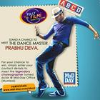 Prabhu Deva At MiD DAY Office