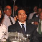 Sachin And Arjun At Bloomberg TV Autocar India Awards 2013