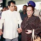 Dilip Kumar And Saira Banu Leave For Mecca