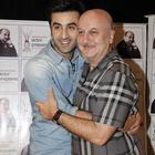 Anupam Kher Interviews Ranbir Kapoor Photo Stills