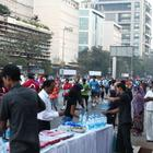 Salman Being Human Encourage The Mumbai Marathon Runners