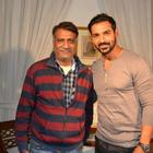 John Abraham Spotted With Fans