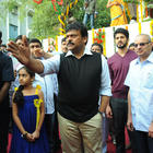 Chiranjeevi At Biscuit Movie Opening And Pooja Event