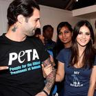 Sunny Leone At PETA Adopt Stray Dog Event