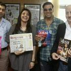 Akshay And Kajal Promotes Special 26 At New Delhi
