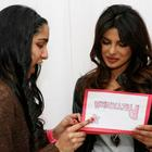 Priyanka Chopra Stills With Her Fans At Bramalea City