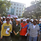 Celebrities Walk For Cancer Awareness 2013 Event