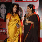 Hema Malini And Vidya In Traditional Look At The Hindustan Times Style Award 2013
