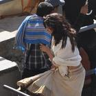 Deepika Padukone On The Sets Of Ram Leela