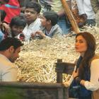 Kareena Kapoor Khan On The Sets Of Satyagraha At Bhopal