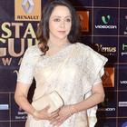 Hema Malini Looked Gracefull In Neeta Lulla Saree At Star Guild Awards 2013