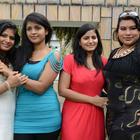 Aswi,Tanusha And Sushmita At Amma Nanna Oorelithe Movie Press Meet