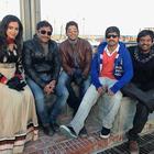 Jr. NTR And Allu Arjun On The Shooting Set Photos