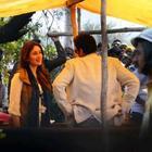 Amitabh Bachchan On The Sets Of Satyagraha Movie