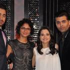 Imran,Karan And Kiran On The Sets Of Front Row With Anupama Chopra