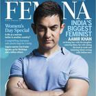 Aamir Shoot For Women's Day Special Edition Of Femina 2013
