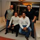 Dhoom Team At The Dhoom 3 Press Conference In Switzerland