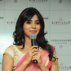 Samantha Launching Diamond Jewellery In Kirtilal Jewellers