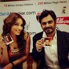 Bipasha And Nawazuddin At Dainik Bhaskar Office For Aatma Promotions